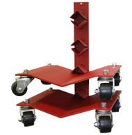 Rolling Rack for Auto Dolly Storage System