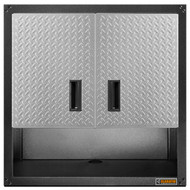 Gladiator 2 Door 1 Shelf Wall GearBox Cabinet
