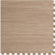 Perfection Floor Tile Wood Grain Elm.  Flexible Interlocking Tiles.