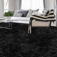 Perfection Floor Tile Natural Stone Marble Cambrian Black - Scene Shot