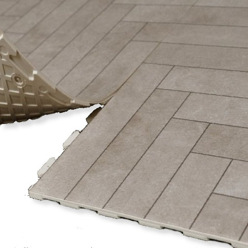 Perfection Floor Tile Natural Stone Chevron Collection 20 X 20 X
