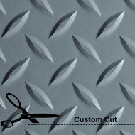 G Floor Diamond Tread Roll Out Vinyl Flooring Custom Cut