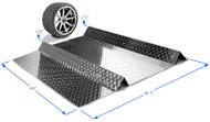 """ParkingSpot™ MAGNUM Size: 48""""W x 44""""L"""