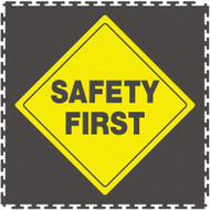 Perfection Floor Safety Tiles, Hazards, Notices Printed Tiles.  Interlocking Tiles.