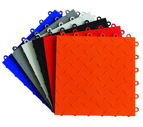 Xtreme Diamond Pattern Garage Tiles, Made in USA