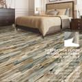 Perfection Floor Tile Woodland Plank Vinyl Wood Tile Mariner Steak
