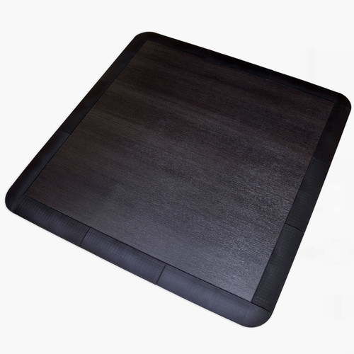 Snaplock Smoked Oak 3' x 3' Tile (edges not included)