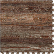 Perfection Floor Tile Vintage Wood Collection Rusted Oak