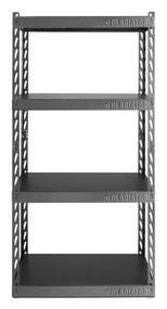 """Gladiator 30"""" Wide EZ Connect Rack 4 Shelves"""