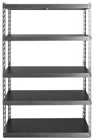 """Gladiator 48"""" Wide EZ Connect Rack with Five 18"""" Deep Shelves"""