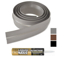 Tsunami Garage Door Threshold Kit in Grey, Brown or Black