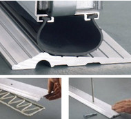 Excalibur Solid Aluminum Overhead Garage Door Threshold