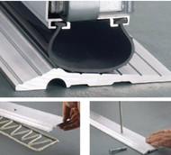 Excalibur Solid Aluminum Garage Door Threshold