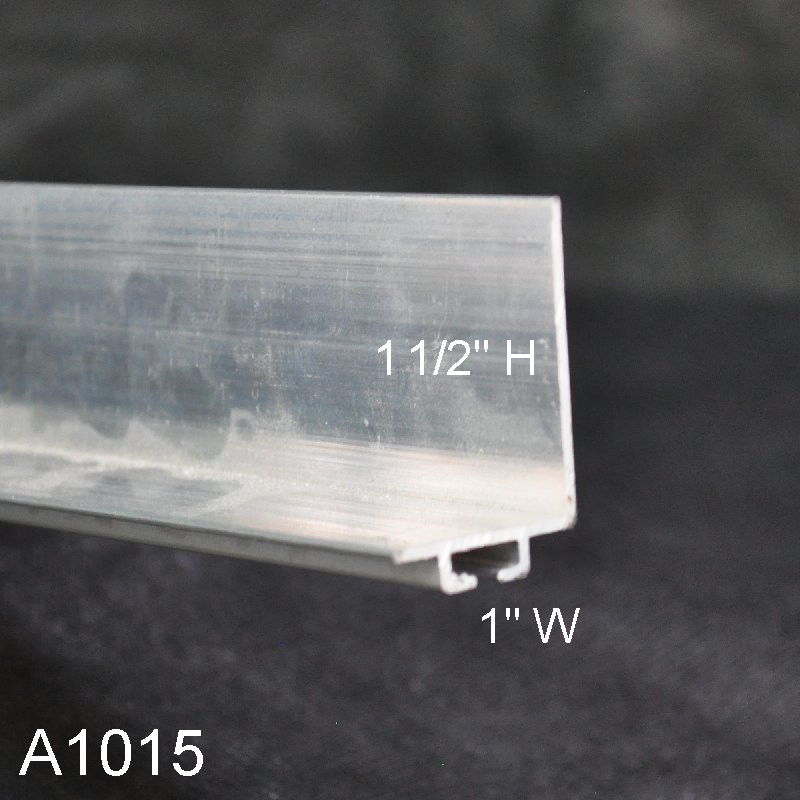 Aluminum Garage Door Bottom Seal Retainer 1 Quot X 1 1 2 Quot L