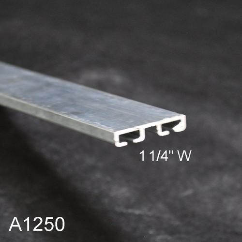 Aluminum Garage Door Bottom Seal Retainer 1 1 4 Quot Flat