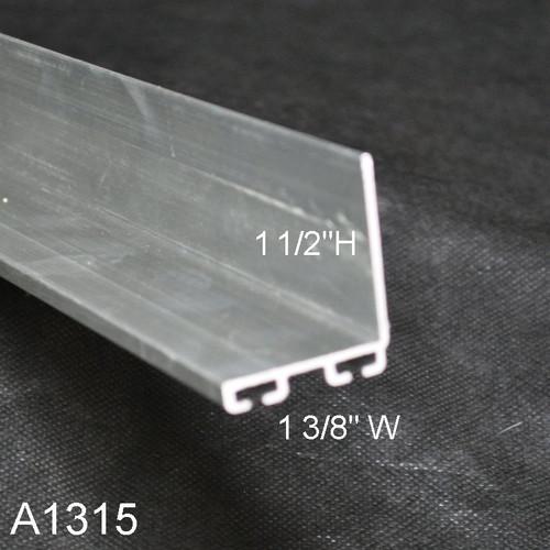 Aluminum Garage Door Bottom Seal Retainer 1 38 X 1 12 L Shaped