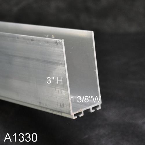 Aluminum Garage Door Replacement Retainer 1 3 8 Quot X 3 Quot U