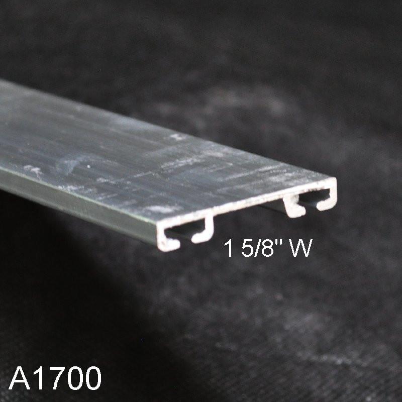 Aluminum Garage Door Bottom Seal Retainer 1 58 Wide A1700 00 W