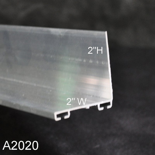 Aluminum Garage Door Bottom Seal Retainer 2 X 2 L Shaped A2020