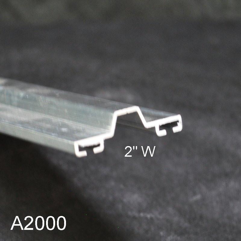 Aluminum Overhead Garage Door Bottom Seal Retainer A2000