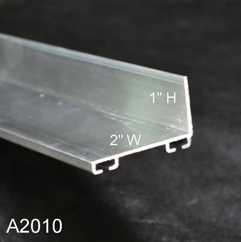 Aluminum Garage Door Bottom Seal Retainer A2010