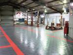 Race Deck Diamond Tile Warehouse Floor