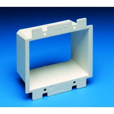 Slatwall Wall Outlet Double Box Extender Storewall