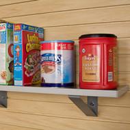 """StoreWall Shelf 10"""" W w/End Caps"""
