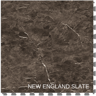Perfection Floor Tile Natural Stone New England Slate Flexible Interlocking Tiles