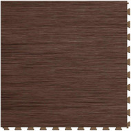 Perfection Floor Tile Wood Grain Walnut.  Flexible Interlocking Tiles.