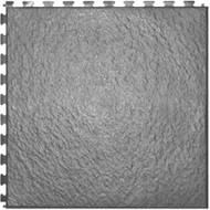 Home Style Slate Pattern Interlocking Tile Dark Grey, Graphite