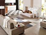 Perfection Floor Tile Home Style Used in Kitchen and Living Room