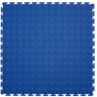 Perfection Floor Tile Coin Pattern, Blue
