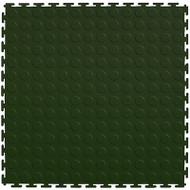 Flexi Tile by Perfection Floor Tile, Coin Forest Green