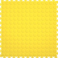 Perfection Floor Tile Coin Pattern Yellow