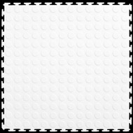 Flexi Tile by Perfection Floor Tile, Coin White