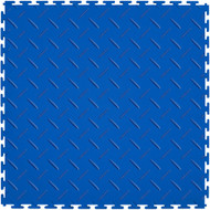 Perfection Floor Tile Flexible Interlocking Tiles Blue
