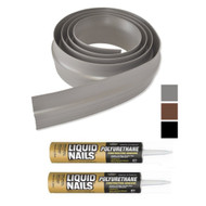 Tsunami Garage Door Threshold Kit in Black, Brown or Grey