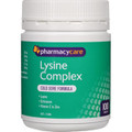 Pharmacy Care Lysine Complex - 100 Tablets