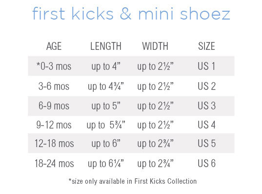 Baby Infant Toddler Shoes Sizing Help  Robeez