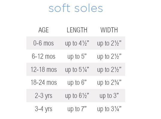 Baby, Infant, Toddler Shoes Sizing Help | Robeez