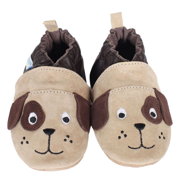 Robeez 3D Dog Soft Soles Baby Shoes