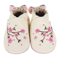 Robeez Cherry Blossoms Baby Shoes
