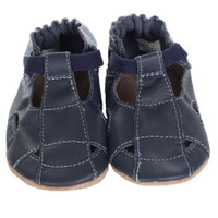 Robeez Fisherman Sandal Baby Shoes Brown