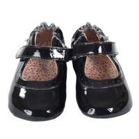 Robeez Gracie Baby Shoes Black
