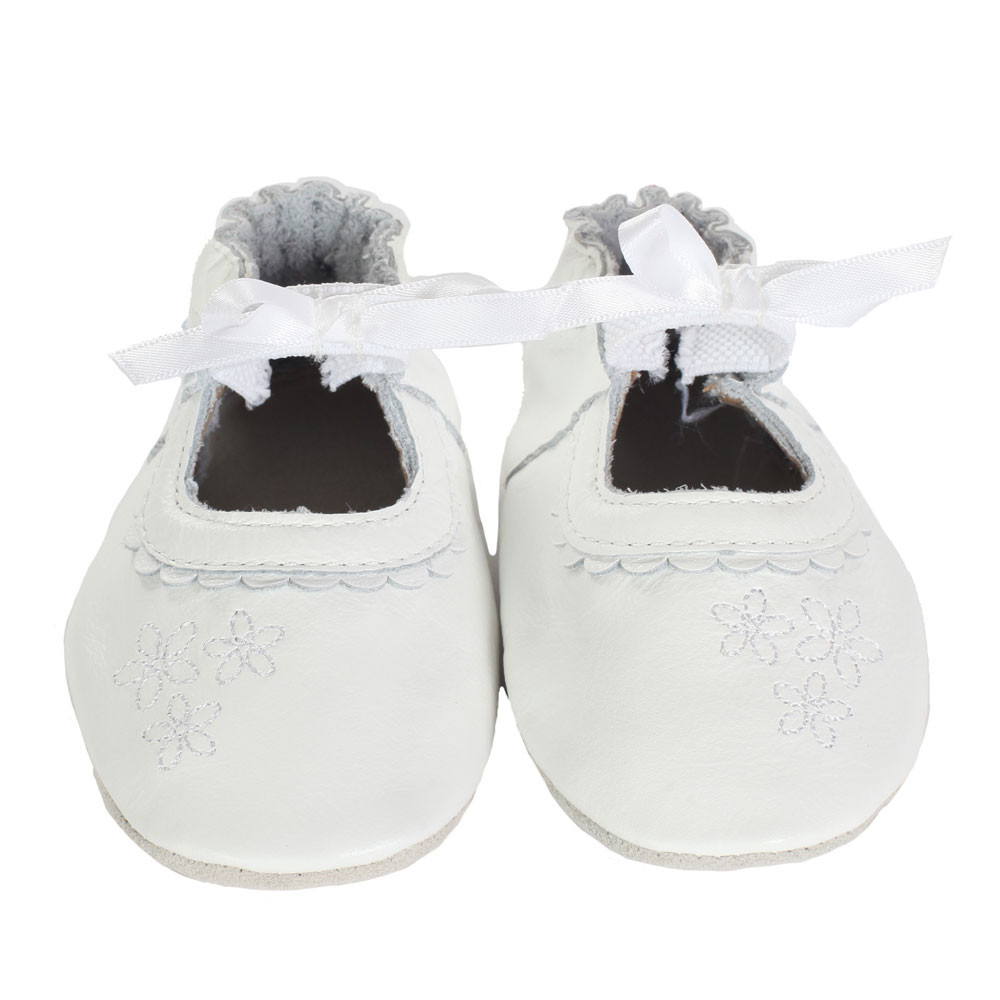 Robeez Special Occasion Baby Shoes White