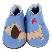 Robeez Dachshund Baby Shoes Soft Soles