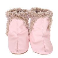 Robeez Classic Baby Boots Pink