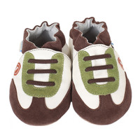 Robeez All Star Rodney Baby Shoes Brown
