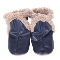 Robeez Classic Baby Boots Navy